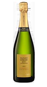 champagne millésimé grand bouqet 2013 vazart coquart
