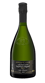 champagne millésime spécial club 2012 vazart coquart