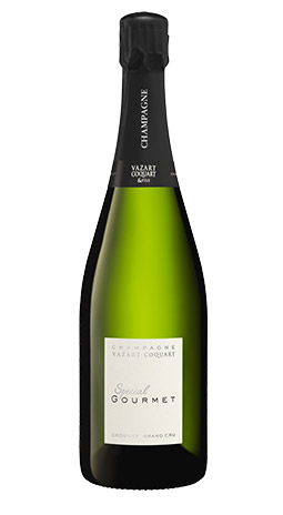 champagne prestige spécial gourmet vazart coquart