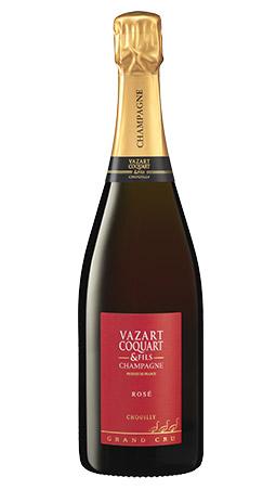 champagne rosé vazart coquart