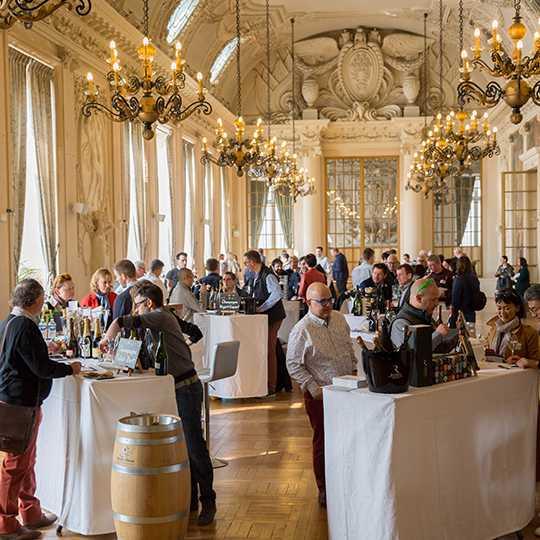 Printemps des champagnes 2019 à l'hôtel de ville de Reims