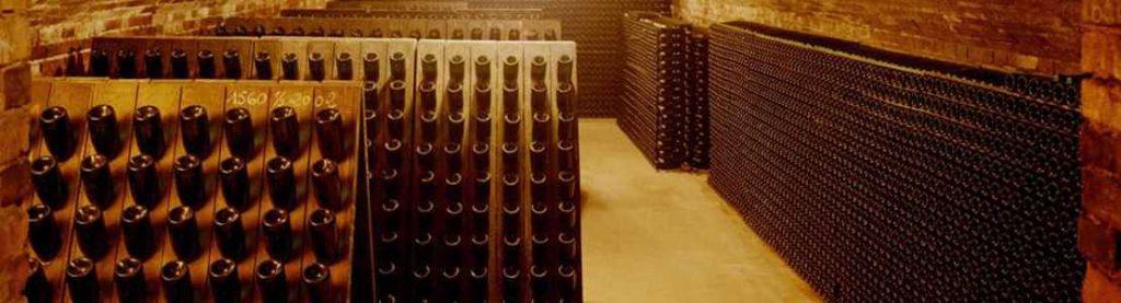 Le remuage du champagne