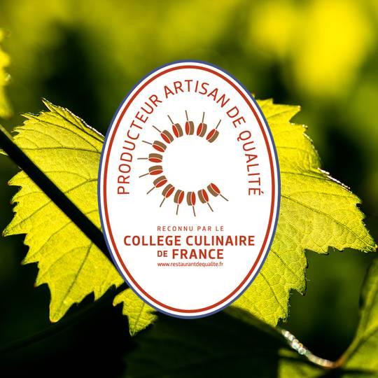 Vazart Coquart reconnu pour la qualité de ses champagnes par le collège culinaire de France